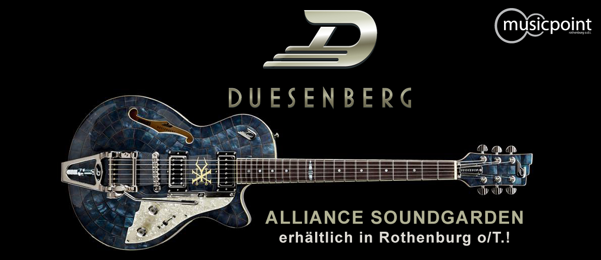 Duesenberg Alliance Soundgarden - Black Hole Sun
