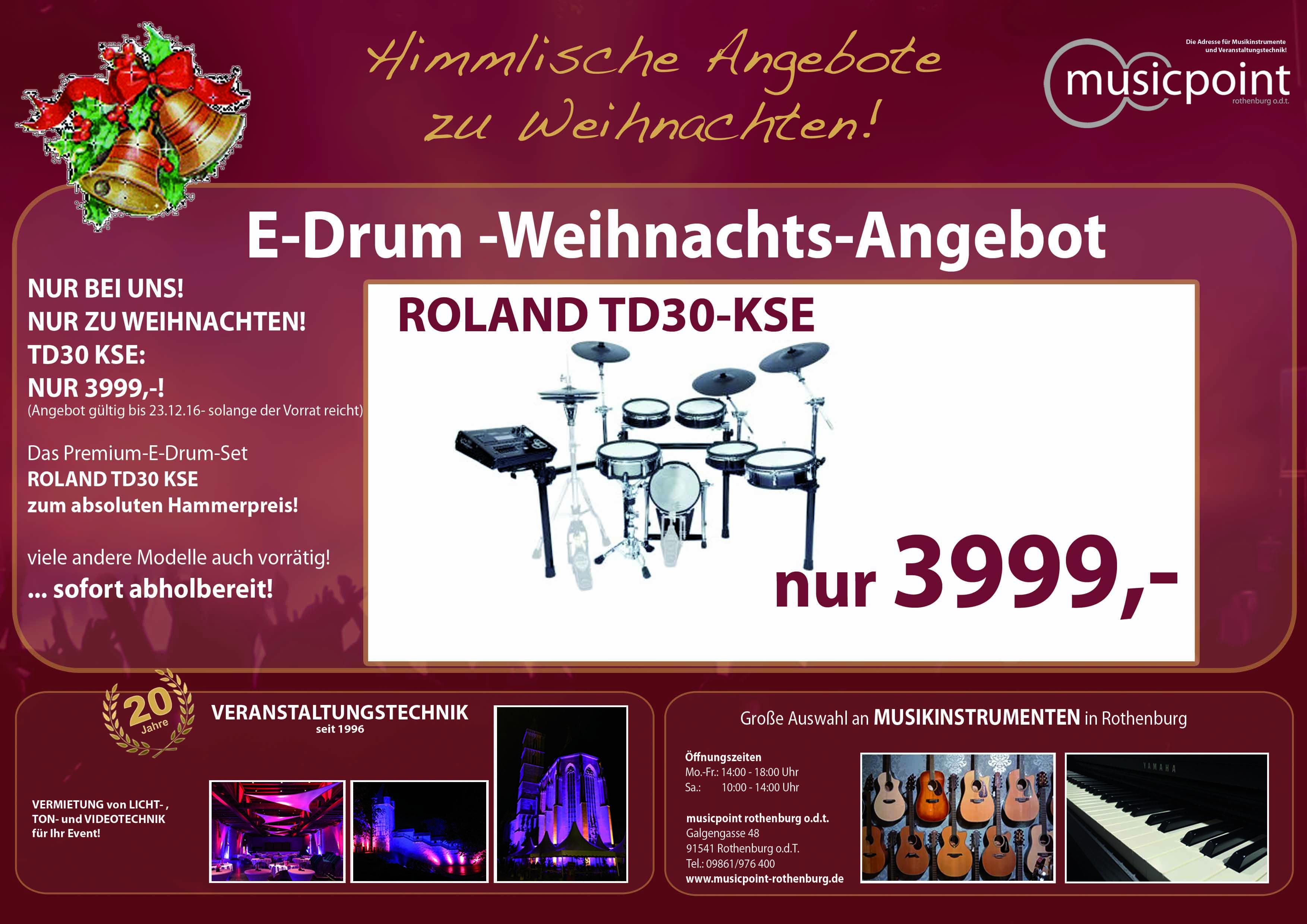 Roland TD 30 KSE
