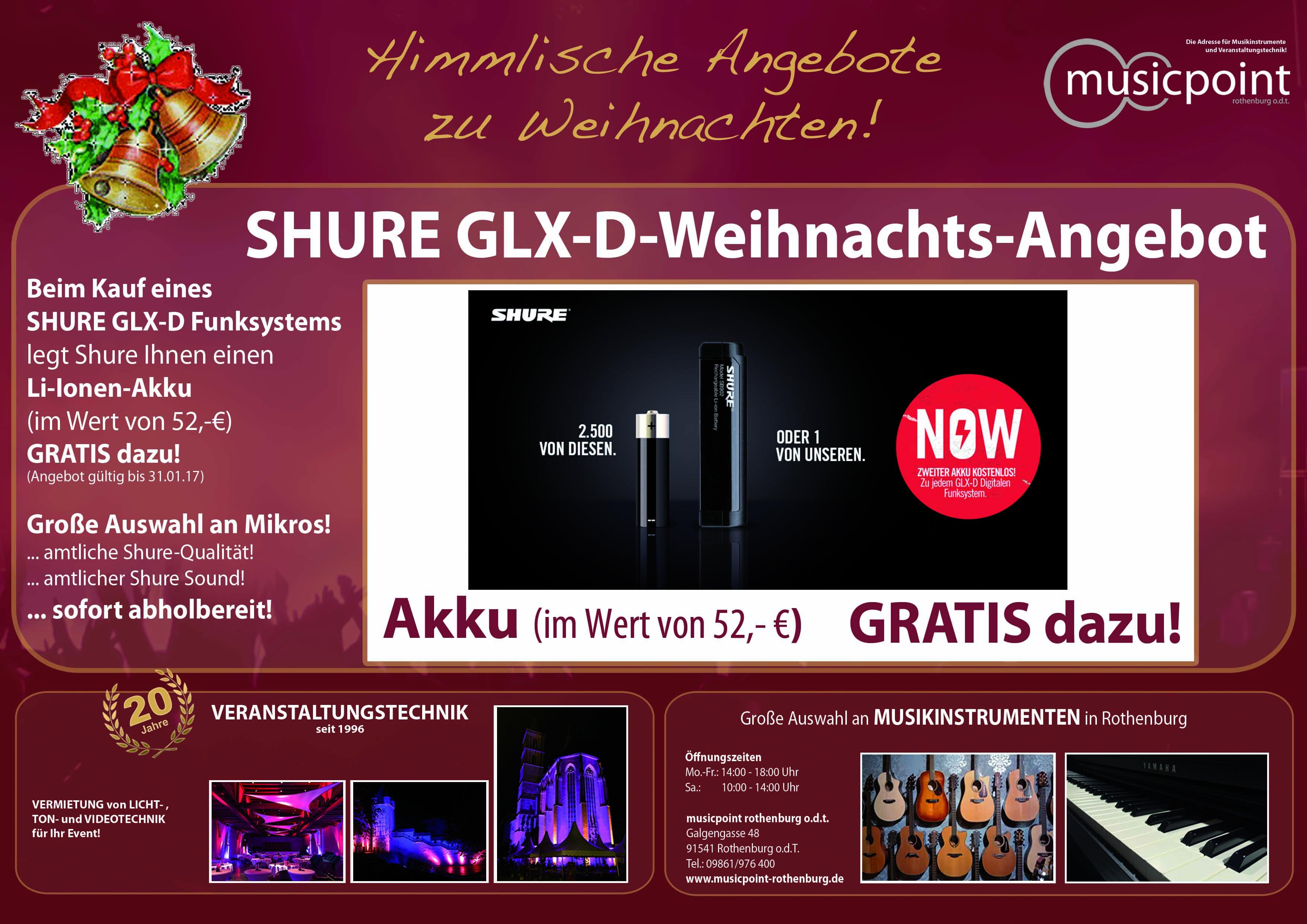 musicpoint_werbung_a4_quer_weihnacht_shure_glx