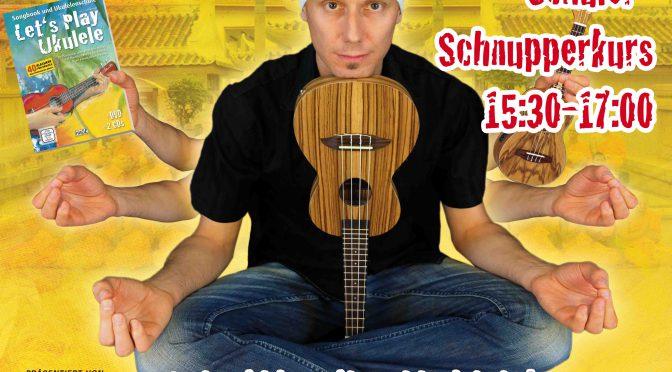 Ukulele Einsteiger-Workshop und Schüler-Schnupperkurs mit Daniel Schusterbauer – 18.10.18 in Rothenburg