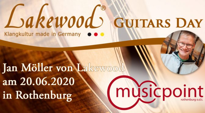 Lakewood am sa. 20.06. vor Ort im Musicpoint Rothenburg