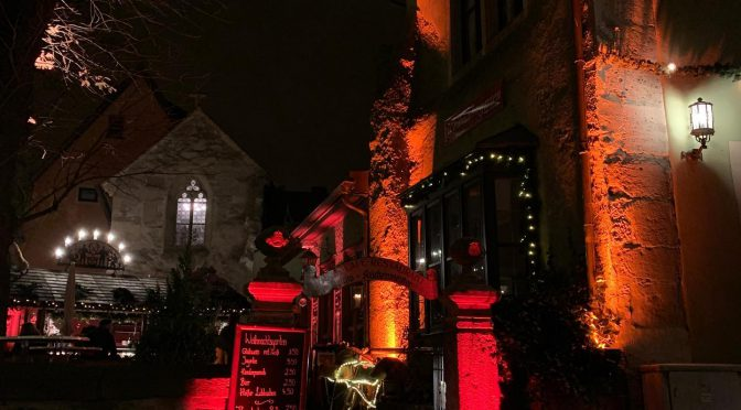 Weihnachtsgarten leuchtet – Illumination Musicpoint Rothenburg