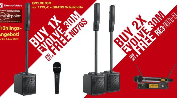 Spring Special! Electro-Voice Soundsysteme Special Deals